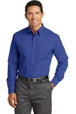 Red House NonIron Diamond Dobby Shirt Royal Blue Thumbnail