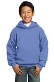 Youth Pullover Hooded Sweatshirt Carolina Blue Thumbnail