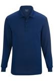 Edwards Unisex Snag Proof Long Sleeve Polo Royal Thumbnail