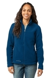 Women's Eddie Bauer Full-zip Fleece Jacket Deep Sea Blue Thumbnail
