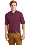Spotshield 5.6-ounce Jersey Knit Polo Shirt Maroon Thumbnail