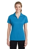 Women's Sport-Tek PosiCharge RacerMesh Polo Pond Blue Thumbnail