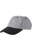 Ball Cap Chef Hat Houndstooth Thumbnail