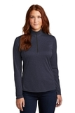 Ladies Endeavor 1/4-Zip Pullover Deep Navy Heather Thumbnail