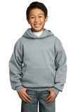 Youth Pullover Hooded Sweatshirt Athletic Heather Thumbnail