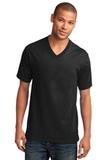 5.4-oz 100 Cotton V-neck T-shirt Jet Black Thumbnail
