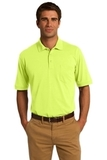 Jersey Knit Pocket Polo 5.5-ounce Safety Green Thumbnail