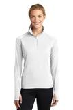 Women's Stretch 1/2-zip Pullover White Thumbnail