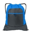 Pocket Cinch Pack Brilliant Blue with Deep Smoke Thumbnail