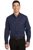 SuperPro Twill Shirt True Navy Thumbnail