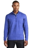 Sport-Wick Stretch Reflective Heather 1/2-Zip Pullover True Royal Thumbnail