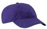 Brushed Twill Low Profile Cap Purple Thumbnail
