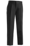 Men's Pleated Pant Black Thumbnail