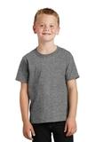 Youth 5.5-oz 100 Cotton T-shirt Graphite Heather Thumbnail