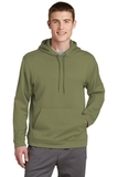 Performance Hooded Pullover Olive Drab Green Thumbnail