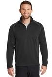Eddie Bauer 1/2 Zip Base Layer Fleece Black Thumbnail