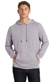 Lightweight French Terry Pullover Hoodie Heather Grey Thumbnail