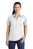 Women's Posi-UV Pro Polo White Thumbnail
