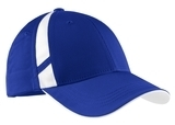Dry Zone Mesh Inset Cap True Royal with White Thumbnail