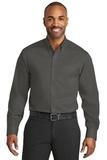 Red House NonIron Twill Shirt Grey Steel Thumbnail