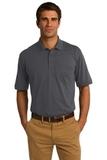 Jersey Knit Pocket Polo 5.5-ounce Charcoal Thumbnail