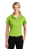Women's Micropique Moisture Wicking Polo Shirt Lime Shock Thumbnail