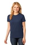 Women's 5.4-oz 100 Cotton T-shirt Navy Thumbnail
