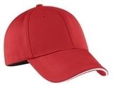 Nike Golf Dri-fit Mesh Swoosh Flex Sandwich Cap Sport Red Thumbnail