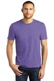 District Made Perfect Tri Crew Tee Purple Frost Thumbnail