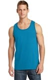 5.4 oz. 100% Cotton Tank Top Neon Blue Thumbnail