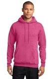 7.8-oz Pullover Hooded Sweatshirt Heather Sangria Thumbnail