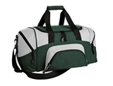 Improved Colorblock Small Sport Duffel Hunter with Grey Thumbnail
