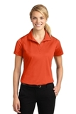 Women's Micropique Moisture Wicking Polo Shirt Deep Orange Thumbnail