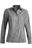Women's No-iron Stay Collar Dress Shirt Charcoal Thumbnail