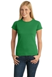 Women's Softstyle Ring Spun Cotton T-shirt Irish Green Thumbnail