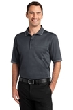 Select Snag-proof Tipped Pocket Polo Charcoal with Light Grey Thumbnail