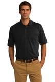 Jersey Knit Pocket Polo 5.5-ounce Jet Black Thumbnail