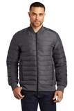 OGIO Street Puffy Full-Zip Jacket Tarmac Grey Thumbnail