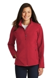 Women's Core Soft Shell Jacket Rich Red Thumbnail