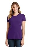 Women's Port & Company Fan Favorite Tee Team Purple Thumbnail