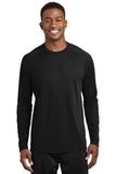 Dry Zone Long Sleeve Raglan T-shirt Black Thumbnail