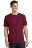 5.5-oz 100 Cotton T-shirt Cardinal Thumbnail