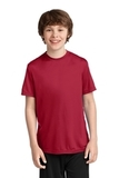 Youth Essential Performance Tee Red Thumbnail