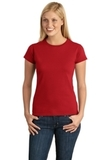 Women's Softstyle Ring Spun Cotton T-shirt Cherry Red Thumbnail