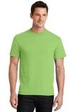 50/50 Cotton / Poly T-shirt Lime Thumbnail