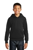 Comfortblend Youth Pullover Hooded Sweatshirt Black Thumbnail