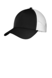 Competitor Mesh Back Cap Black with White Thumbnail