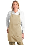 Full Length Apron With Pockets Stone Thumbnail