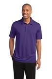 Active Textured Polo Purple Thumbnail