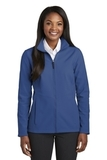 Women's Collective Soft Shell Jacket Night Sky Blue Thumbnail